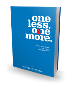 One Less One More by Robbie Vorhaus